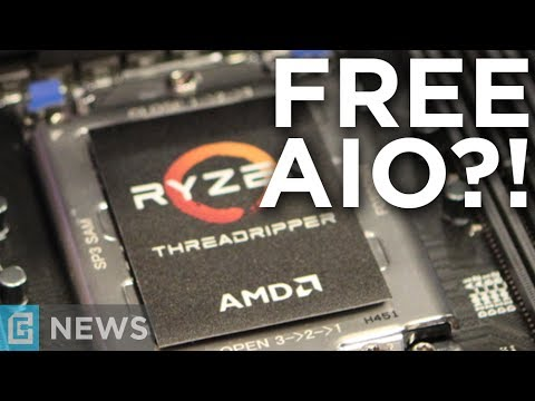 Ryzen Threadripper Comes With FREE Water Cooler?! + Intel 6 Core i5 & i7