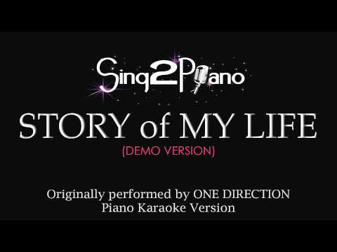 Story Of My Life (piano Karaoke Version) One Direction video