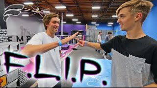 GAME OF FLIP! (CAPRON VS TYLER)