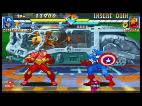 Marvel Super Heroes (1995) by logan