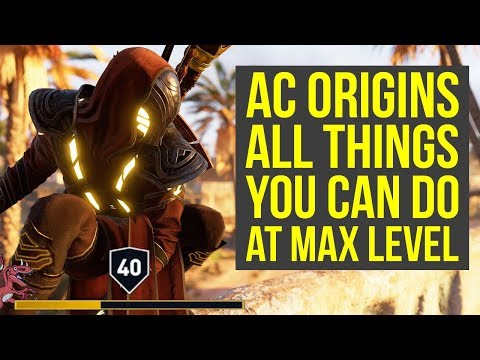 Assassin's Creed Origins Tips ALL THINGS YOU CAN DO AFTER YOU FINISHED THE GAME (AC Origins Tips)