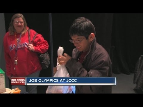 Job Olympics held at Johnson County Community College