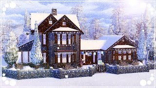 WINTERY FAMILY HOME ⛄🏡 (SEASONS) | The Sims 4 | Speed Build