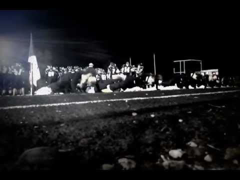 mandan high school cheerleaders doing push ups