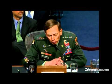 General David Petraeus grilled on Afghan drawdown