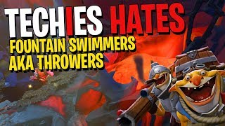 Techies Hates Fountain Swimmers (KDA 21-6-12) - DotA 2