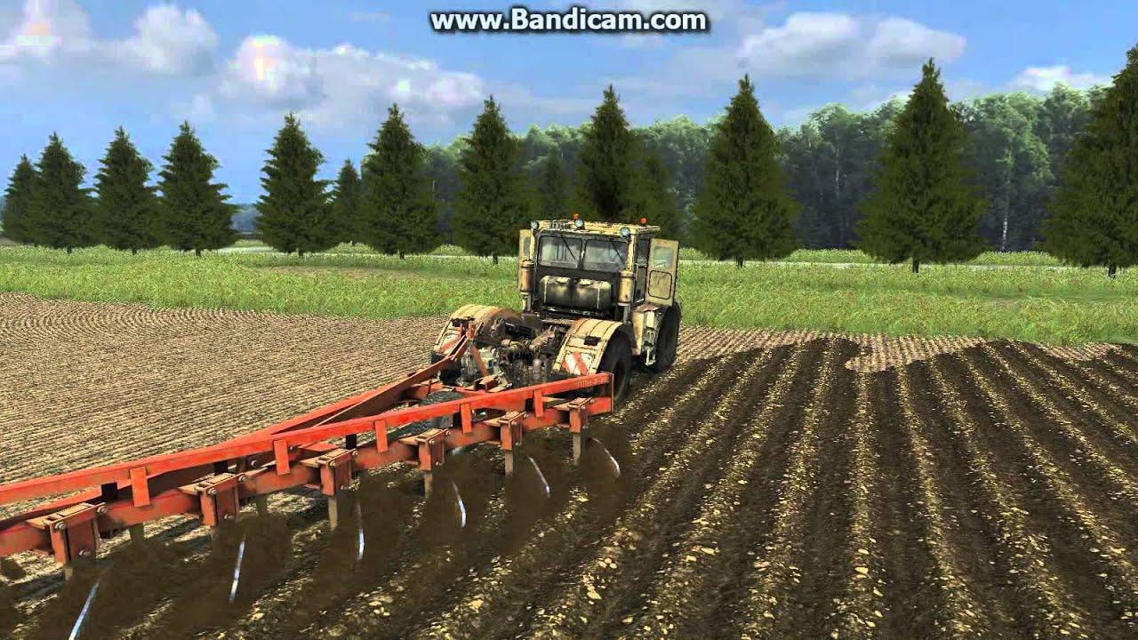Трактор К-700. Технические характеристики, фото и видео.