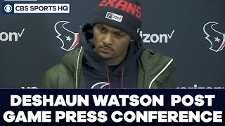 Deshaun Watson Post Game Press Conference: AFC Divisional Round | CBS Sports HQ