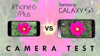 iPhone 6/6 Plus vs Samsung Galaxy S5 - Camera Test Comparison