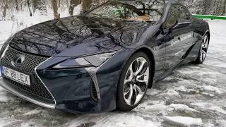 Walkaround: arma japoneză anti BMW Seria 8 - Lexus LC500h