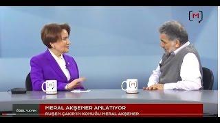 Meral Akşener medyascope.tv'ye konuk oldu