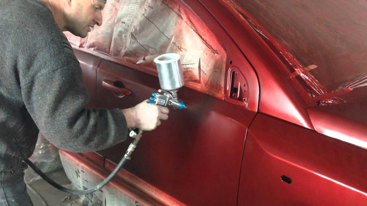 Как сделать краску для авто 73