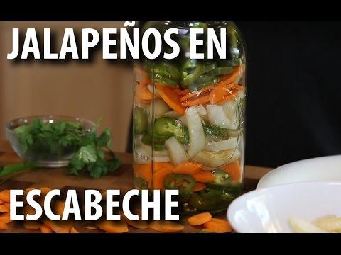 Pickled Jalapeños and Carrots | JALAPEÑOS EN ESCABECHE Recipe