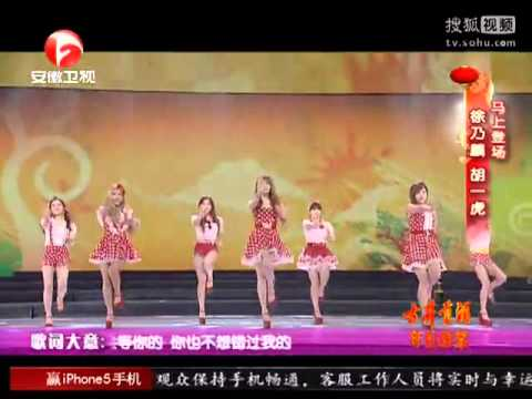 130208 T-ara - Roly Poly  Anhui Tv Spring Festival Gala 2013 video