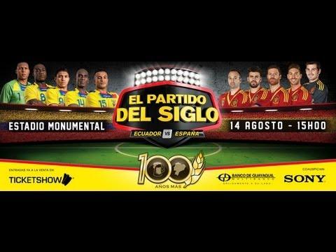 Barcelona Ecuador vs Espana Ecuador vs España el Partido