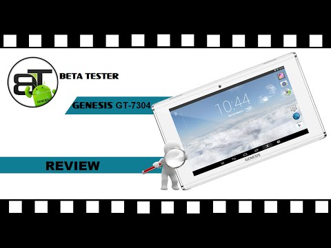 Review - Tablet GENESIS GT-7304 [26# Beta Tester]