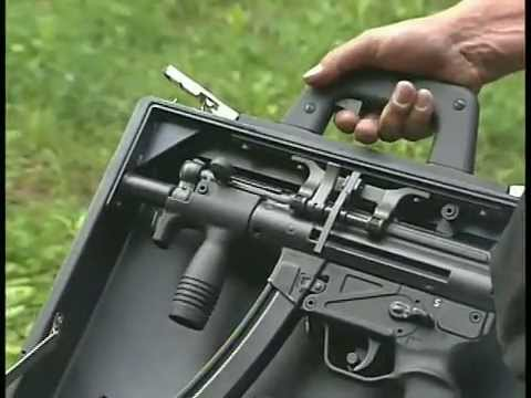 H&K Special Cased MP5/40mm Grenade Pistol Video