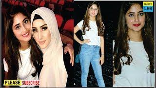 Gorgeous Sajal Aly During Rehearsal Of Hum Awards By Celebrtiy Leb