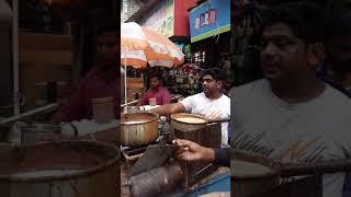 Indian street food kolkata city