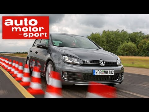 test vw golf gti vs gtd auto motor und sport tv youtube. Black Bedroom Furniture Sets. Home Design Ideas