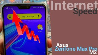 Enable Internet Speed on Status Bar Ft. Asus Zenfone Max Pro M2