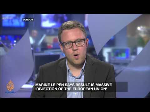 Anti-Europe protest vote?
