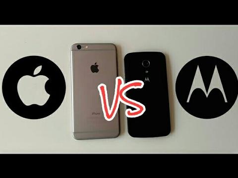 iPhone 6 Plus vs Motorola Moto G 2014 (rendimiento)