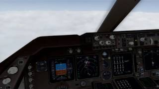 Boeing 747 Landing in Heathrow