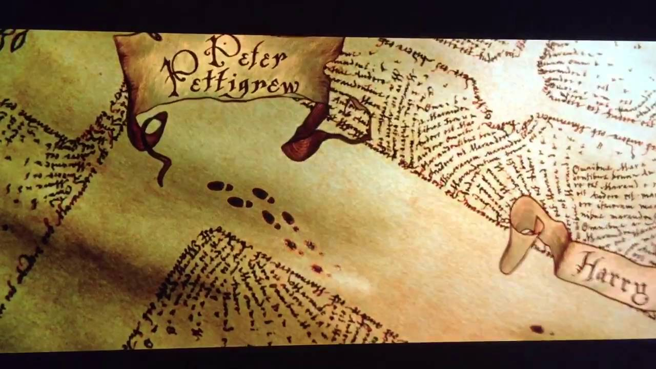 Marauders Map Harry Potter And The Prisoner Of Azkaban