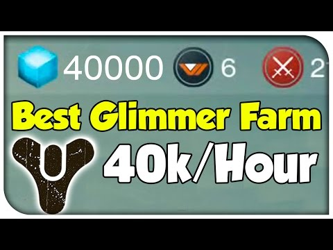 Destiny - BEST MONEY FARM! (40,000 Glimmer/Hour) [Destiny Glimmer Guide]