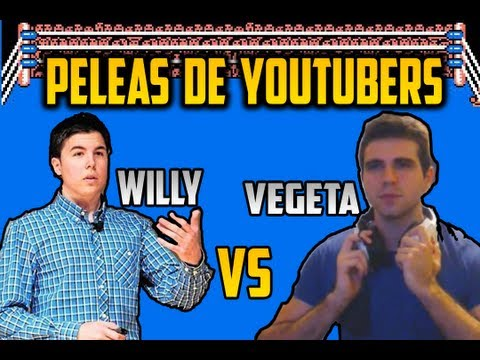 Willyrex Vs Vegetta777 Peleas de Youtubers