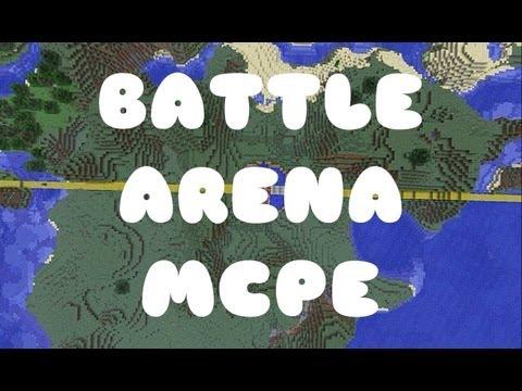 Battle Arena Final Round! (PVP Minigame) (Minecraft PE)
