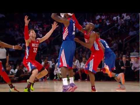 Top 5 Plays of the Night: 2013 NBA All-Star Game