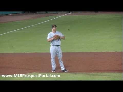 Rockies 3B Nolan Arenado taking grounders - Arizona Fall League 2011 - Salt River Rafters
