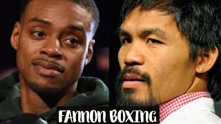 ERROL SPENCE CALLS OUT MANNY PACQUIAO   POSITIONED TO BE BOXING'S BIGGEST STAR?