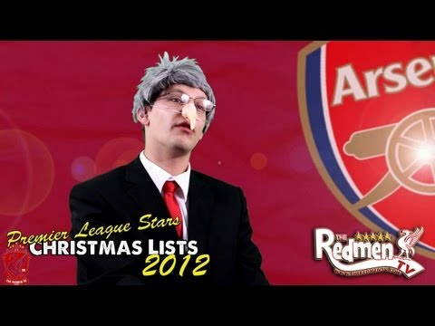 Premier League Stars' Christmas Lists Spoof!