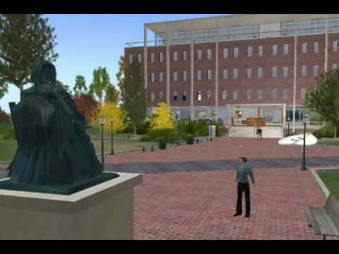 Penn in Second Life