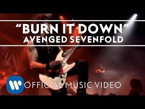 Avenged Sevenfold Burn It Down Regular Version Official Music Video