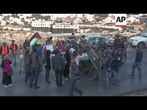 Clashes as thousands protest Bedouin resettlement in Negev desert