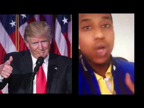 Somali Comedian Says He Is Happy Trump Is President