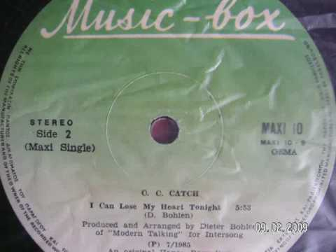 i cant lose my heart tonight (remix) - C C Catch 1985 euro disco