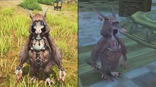 Final Fantasy XI Enemy Models In Final Fantasy XIV