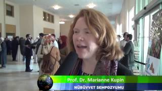 10 Uluslararası Bediüzzaman Sempozyumu   Prof  Dr  Marianne Kupin İİKV Media