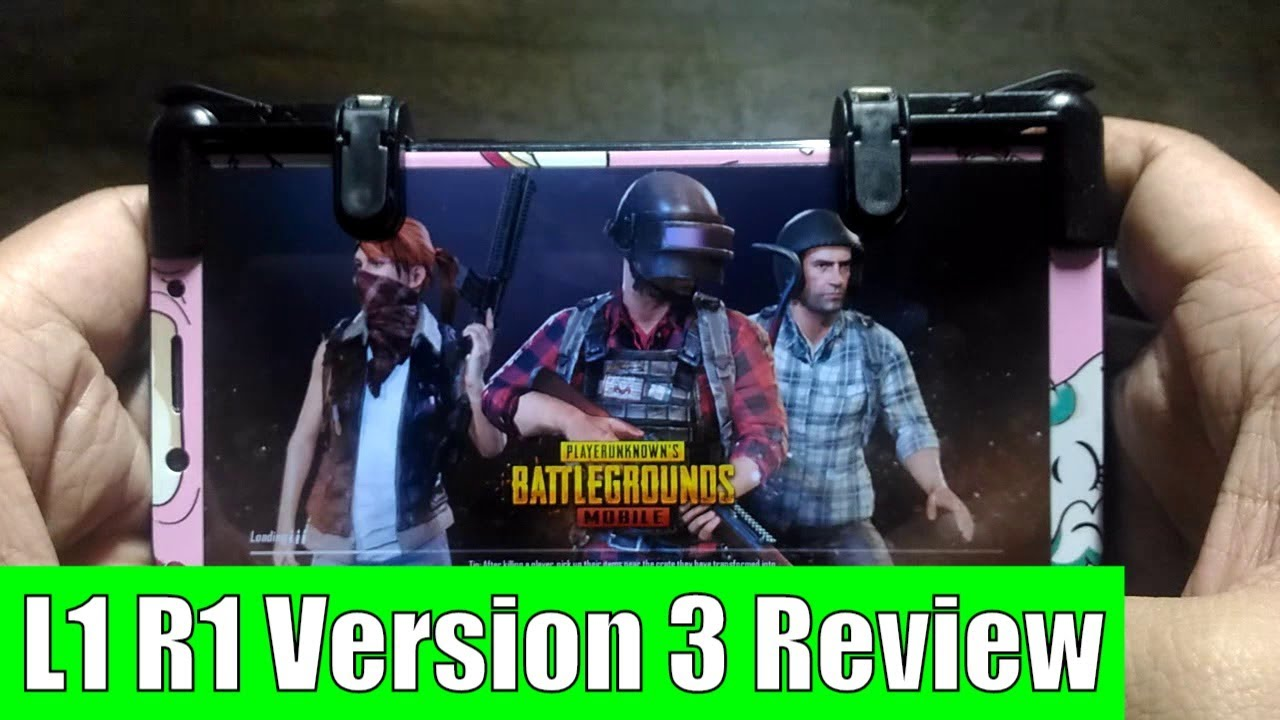 L1 R1 L3 R3 Sharpshooter Phone Trigger Version 3 Review Demo For Sharp Shooter Pubg Mobile Joystick Rule Of Survival Versi Ros Tagalog
