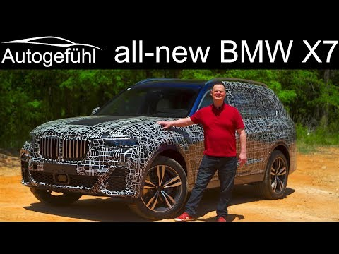BMW X7 first REVIEW exclusive look all-new big SUV - Autogefühl