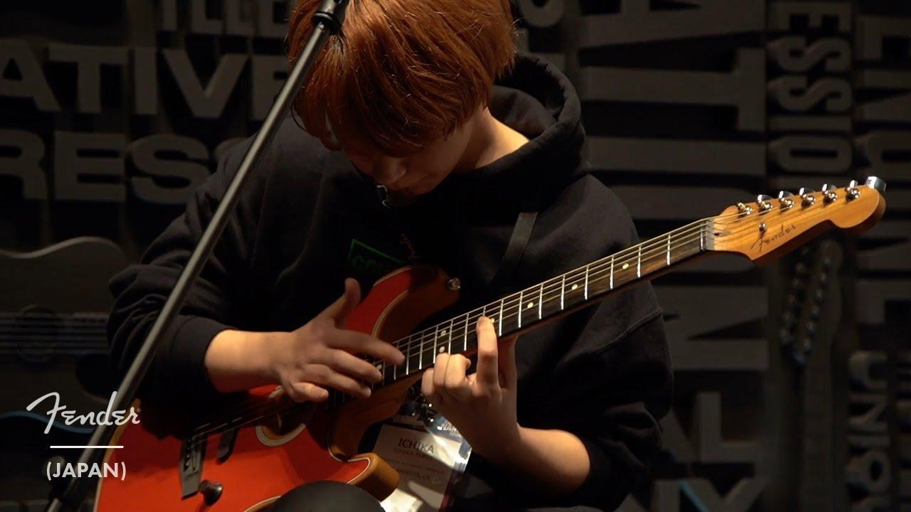 ichika - 「NAMM 2020」Fenderブースからスペシャルステージの映像を公開 (American Acoustasonic Stratocaster使用) thm Music info Clip