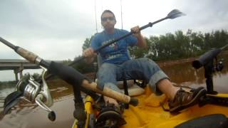 Kayak Fishing Lake Arcadia May 26, 2014
