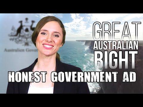 Honest Government Ad   The Great Australian Bight