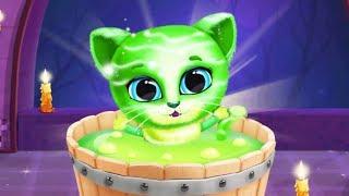 Kiki & Fifi Halloween Salon - Scary Pet Makeover & Hair Salon - Baby Games for Kids