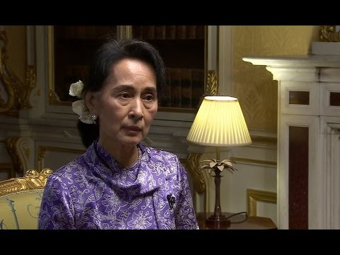 AUNG SAN SUU KYI 'ATTACKS ON MUSLIMS NOT ETHNIC CLEANSING' - BBC NEWS
